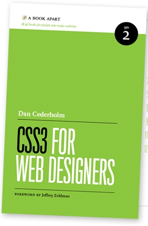 CSS3 for Web Designers Book Cover