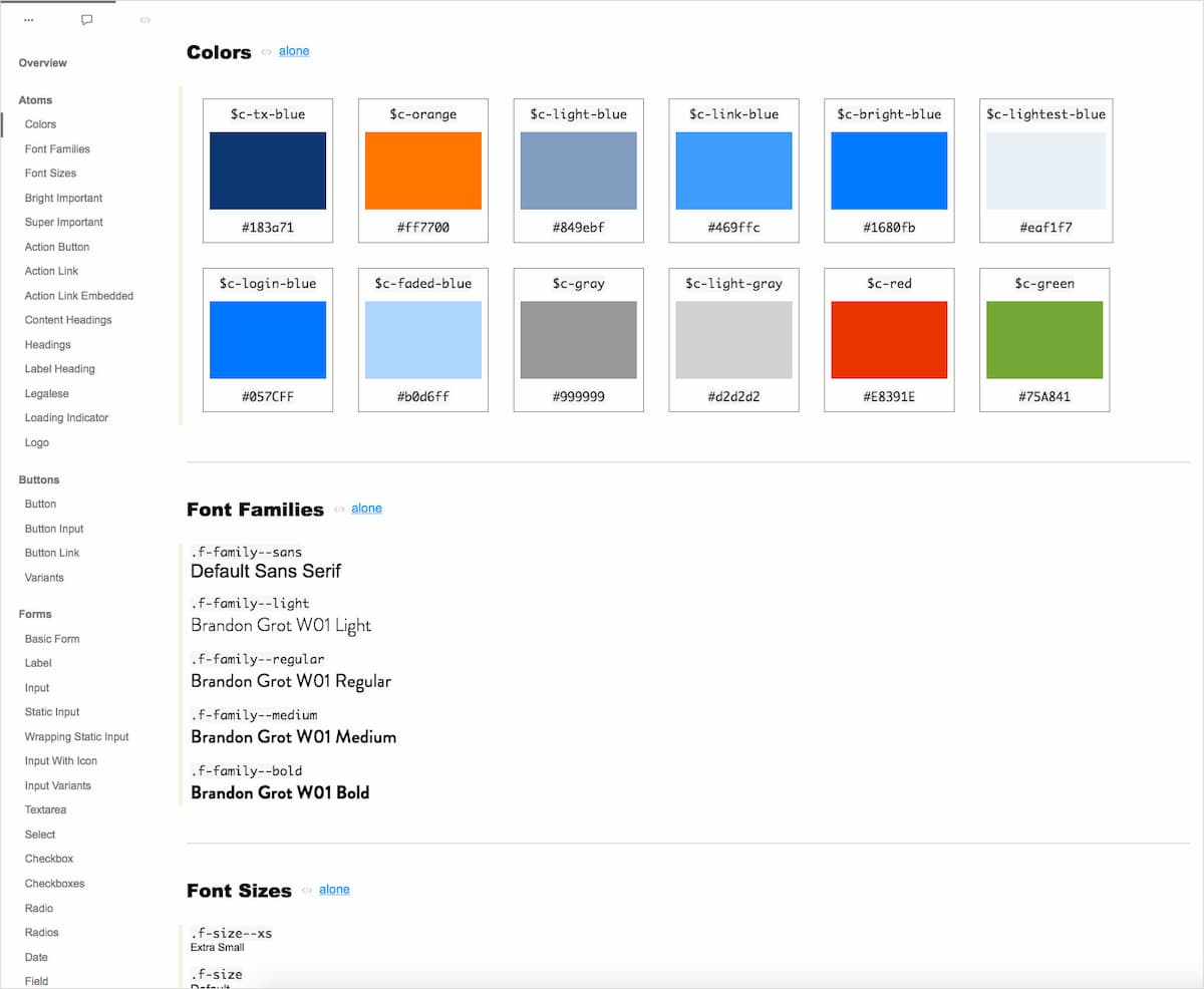 The pattern library we delivered allowed the KUB development team easily maintain and add new pages to the site.