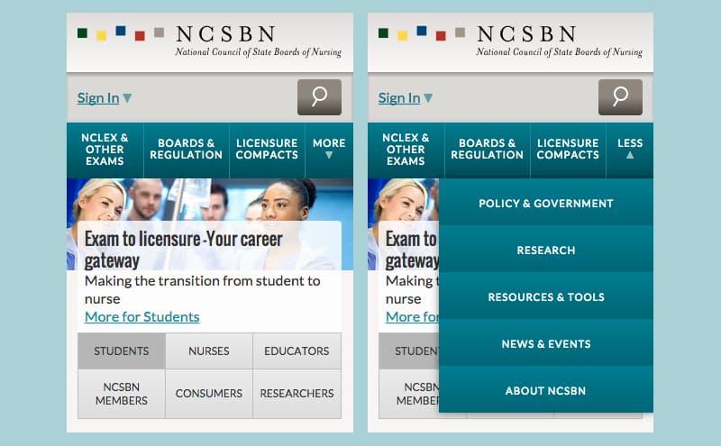 NCSBN Nav Small
