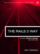 The Rails 3 Way Book Cover