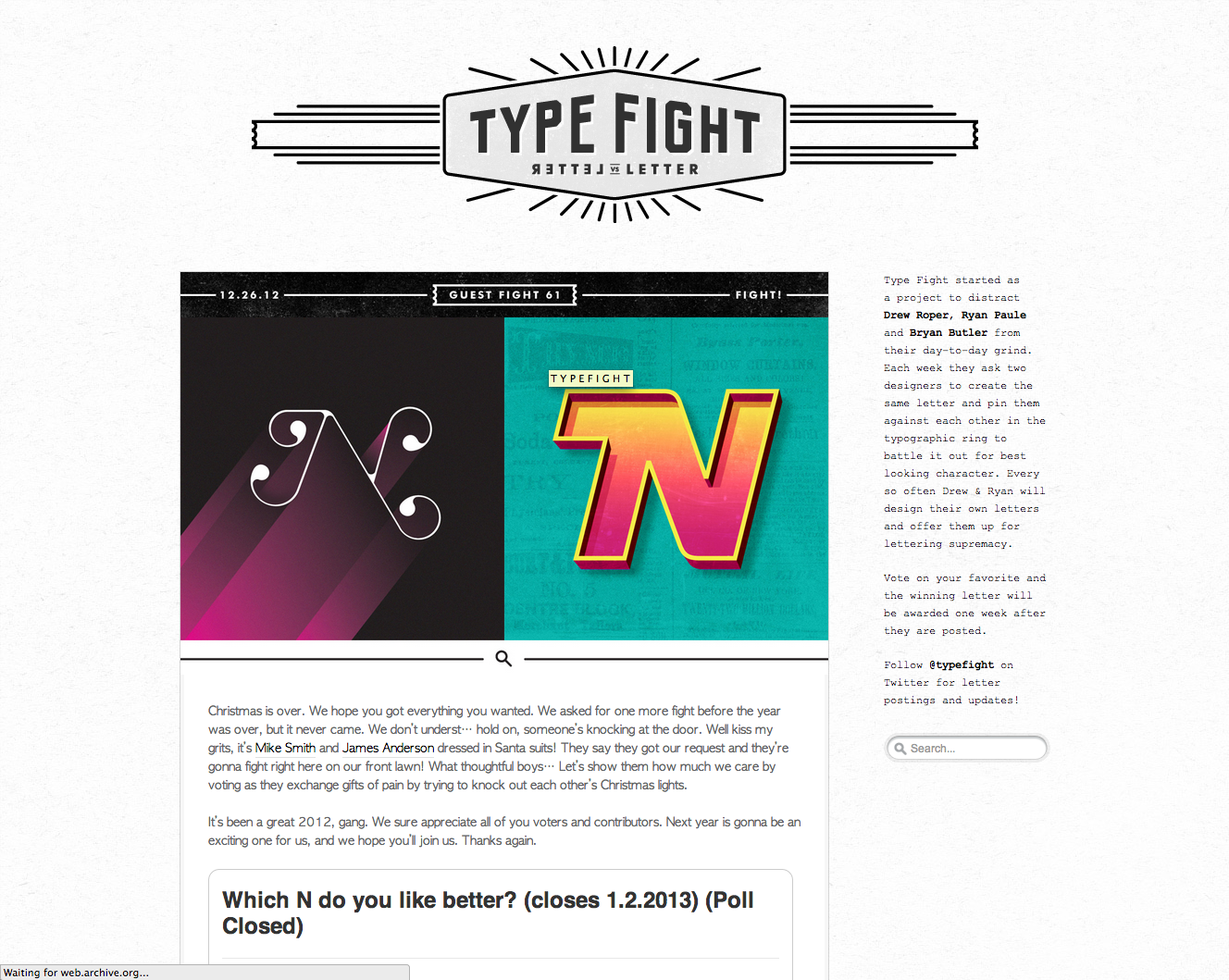 Old Typefight Site