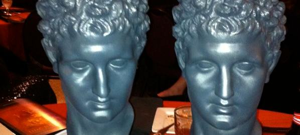Our twin Hermes Heads