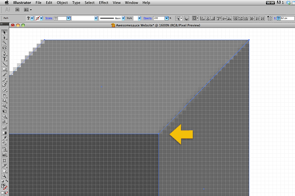 This new option will force vertical and horizontal paths to snap to the pixel grid.