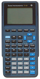 TI-81 Calculator
