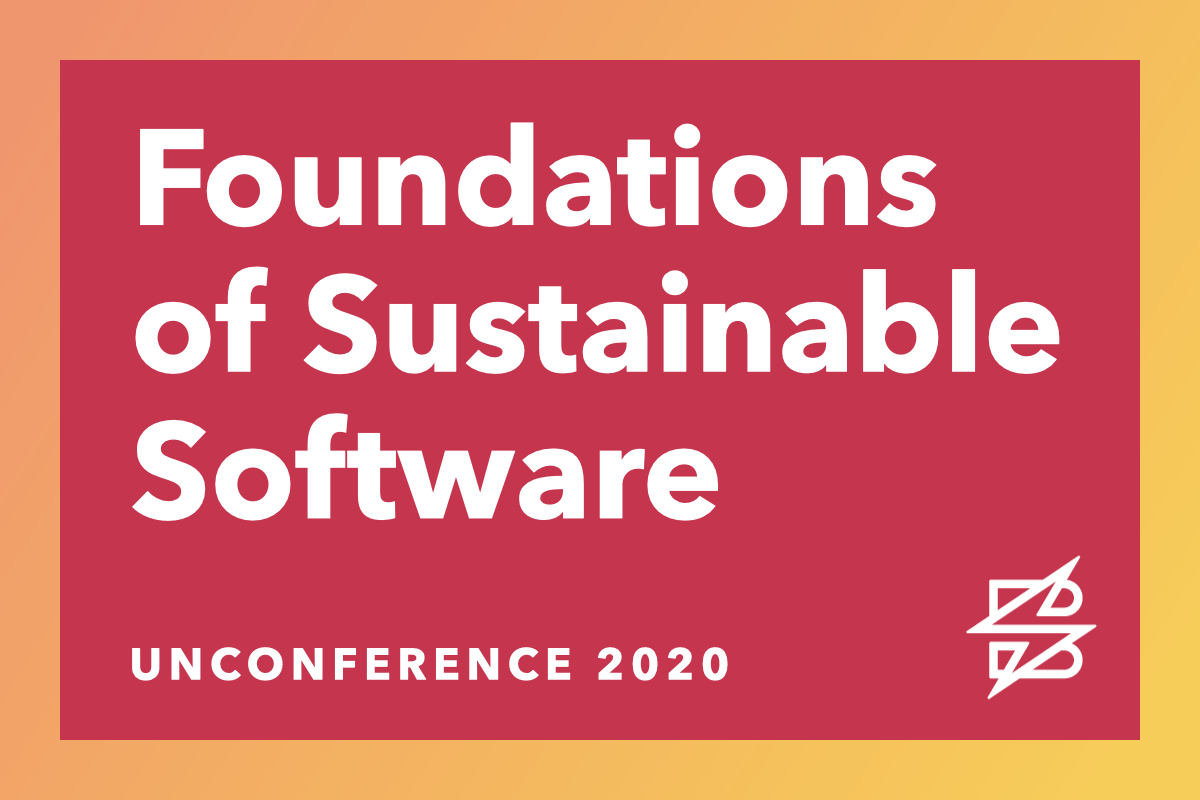 Foundations of Sustainable Software